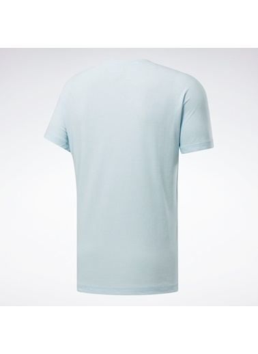 Reebok Rc Ac + Cotton T-Shırt Mavi